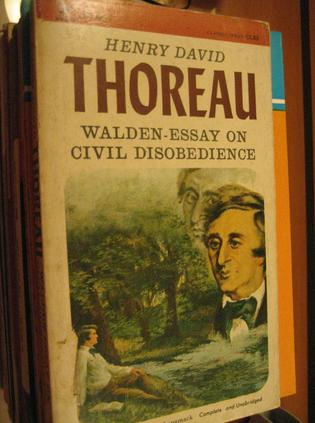 henry david thoreau research paper