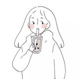 月亮味奶茶