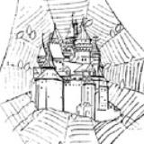 蛛丝上的城堡