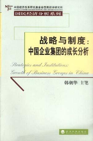 战略与制度:中国企业集团的成长分析