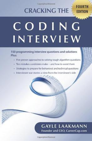 Cracking the Coding Interview, Fourth Edition