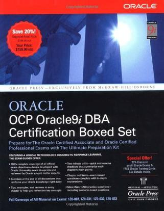 OCP Oracle9i DBA Certification Boxed Set