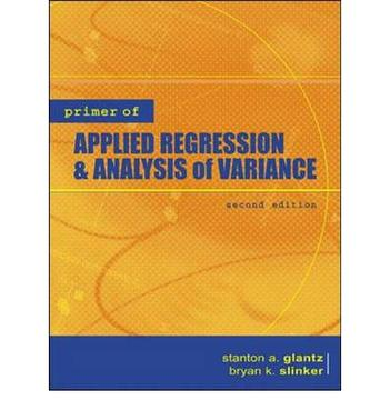 Primer of Applied Regression&Analysis of Variance