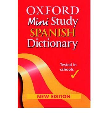 OXFORD MINI STUDY SPANISH DICTIONARY 20.