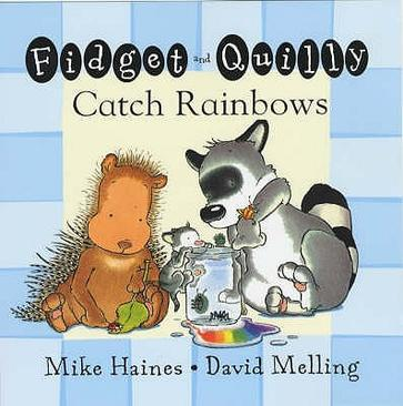 FIDGET AND QUILLY CATCH RAINBOWS (BOARD
