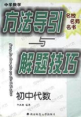 中学数学方法导引与解题技巧(初中代数)