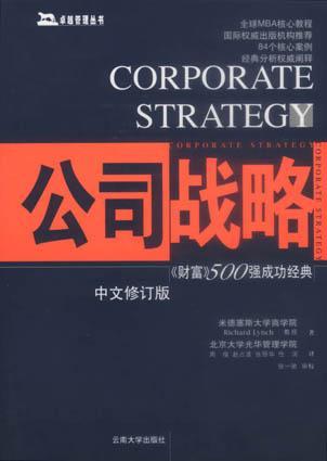 公司战略-财富500强成功经典(中文修订版)