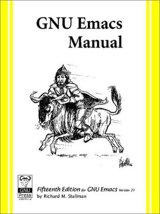 GNU Emacs Manual, For Version 21, 15th Edition