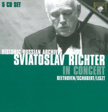Sviatoslav Richter in Concert (box-set)