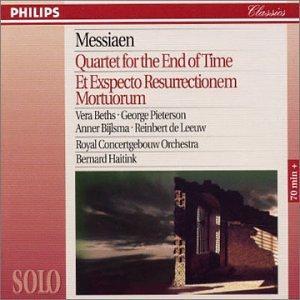 Messiaen: Quator Pour La Fin Du Temps