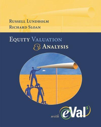 MP Equity Valuation and Analysis with eVal 2004 CD-ROM