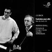 Bach: Cantatas For Alto, BWV 35, 54 & 170 (Cantates pour alto)