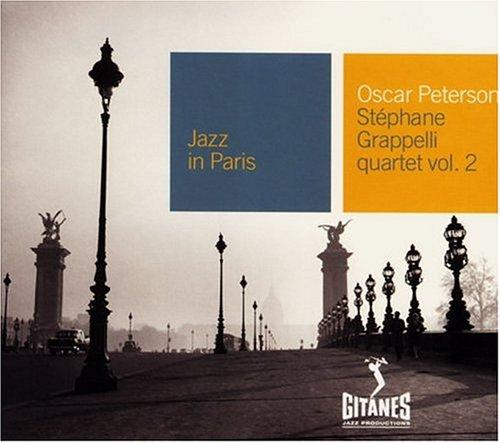Jazz in Paris Oscar Peterson - Stéphane Grappelli quartet vol.2