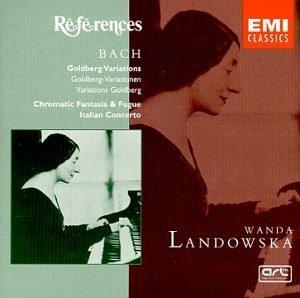 Bach: Goldberg Variations; Chromatic Fantasia & Fugue; Italian Concerto