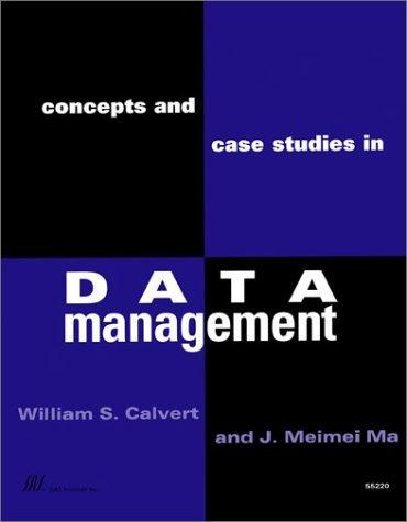 Concepts and Case Studies in Data Management