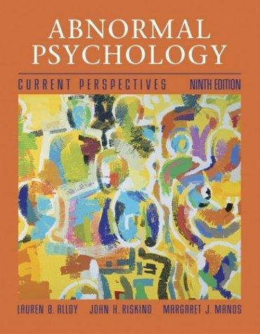 Abnormal Psychology with MindMAP Plus CD-ROM and PowerWeb