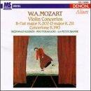 Mozart: Violin Concertos, K.207/K.211/Concertone, K.190