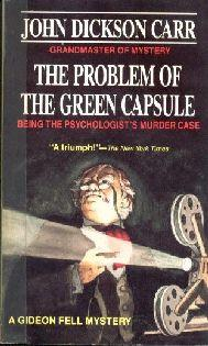 The Problem of the Green Capsule