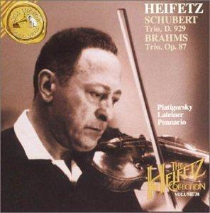 The Heifetz Collection, Volume 38 - Schubert, Brahms