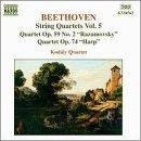 Beethoven: String Quartets, Vol.5