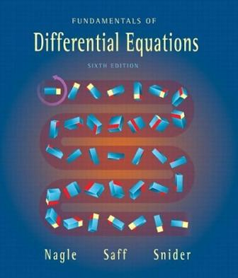 Fundamentals of Differential Equations, Sixth Edition