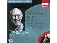 Britten: Cello Symphony; Shostakovich: Cello Concerto