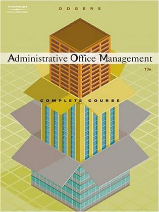Administrative Office Management, Complete Course