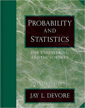 Probability and Statistics for Engineering and the Sciences (with CD-ROM and InfoTrac)