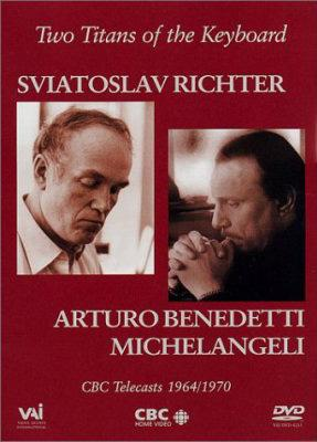 Michelangeli and Richter - Two Titans of the Keyboard (DVD)