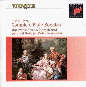 C.P.E. Bach: Complete Flute Sonatas - Barthold Kuijken / Bob van Asperen