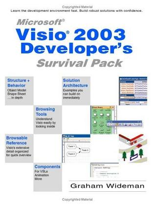 Visio 2003 Developer's Survival Pack
