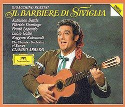 Rossini: Il barbiere di Siviglia / Abbado, The Chamber Orchestra of Europe, Battle, Domingo