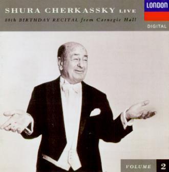 Shura Cherkassky - 80th Birthday Recital from Carnegie Hall