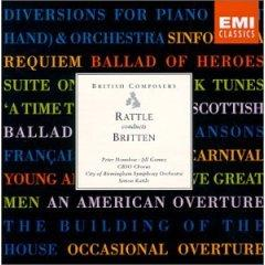 Rattle Conducts Britten