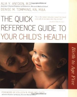 A Parent's Quick Reference to Baby's Health