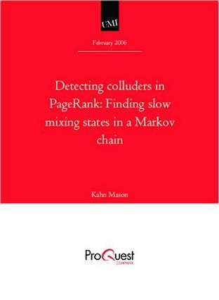 Detecting colluders in PageRank