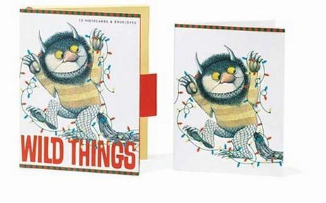 Where the Wild Things Are II Christmas Cards