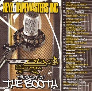 Rap City The Bassment: The Best of The Booth - 100% Freestyles [Mixtape]