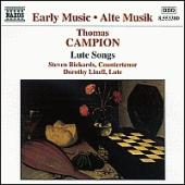 Thomas Campion: Lute Songs