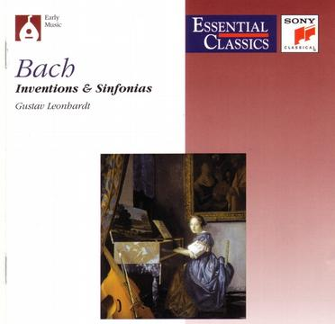 J.S.Bach: Inventions et Sinfonias