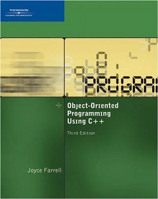 Object-Oriented Programming Using C++, Third Edition