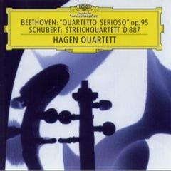 Beethoven: String Quartet Op. 95/Schubert: Quartet D.887