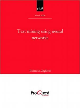 Text mining using neural networks