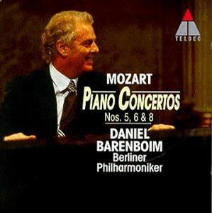 Mozart: Piano Concertos Nos. 5, 6 & 8