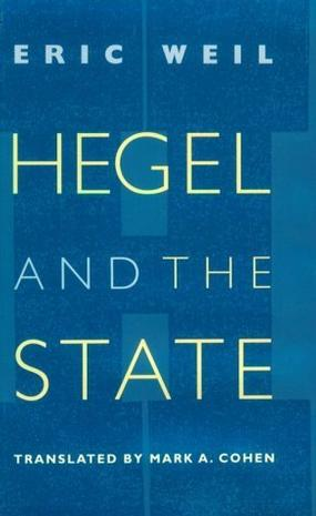 Hegel and the State