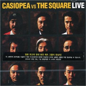 Casiopea Vs the Square: Live