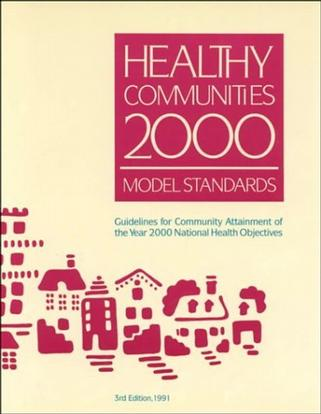 Healthy Communities 2000 Model Standards/013