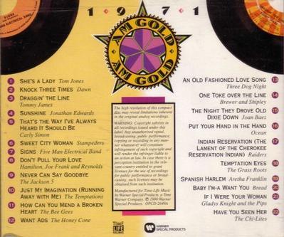 AM Gold: 1971