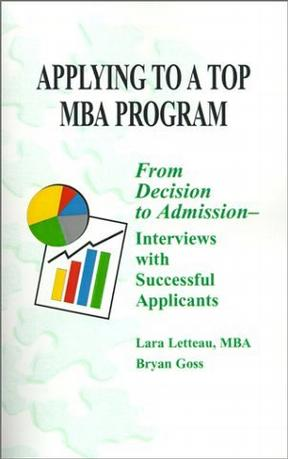 Applying to a Top MBA Program