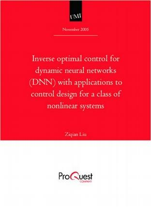 Inverse optimal control for dynamic neural networks (DNN) with applications to control design for a class of nonlinear systems
